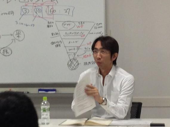 コンサル勉強会(講師:三宅巧一)