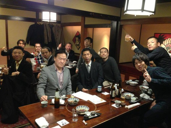 AWBM塾第1期・9回目セミナー終了後の懇親会